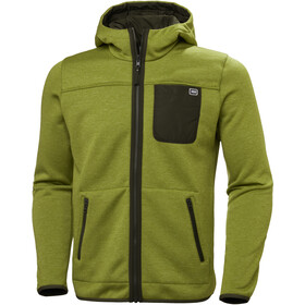 Helly Hansen Verket Reversible Pile Jacket Herre wood green
